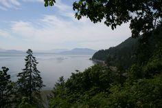 Washington State Coastline.... Chuckanut drive