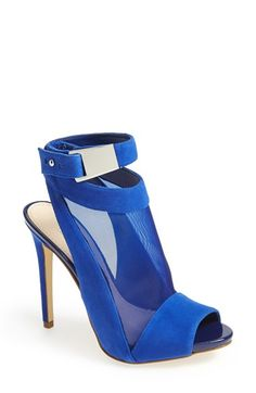 2a374ec74309 GUESS  Adalie  Peep Toe Sandal (Women)
