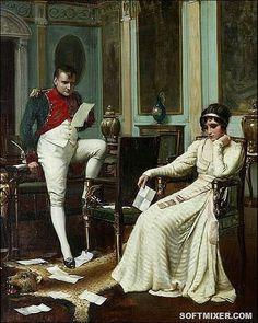 Наполеон и Жозефина. Эту женщину Наполеон Бонапарт любил до самой смерти.