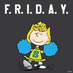 Pin by ellen marconi on snoopy Peanuts Cartoon, Peanuts Snoopy, Peanuts Comics, Its Friday Quotes, Friday Humor, Go Rider, Sally Brown, Snoopy Quotes, Snoopy Love