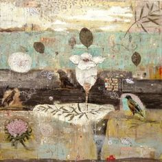 Marti Somers #art #mixedmedia #painting
