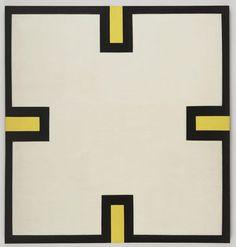 Al Held. Maltese Cross. 1964