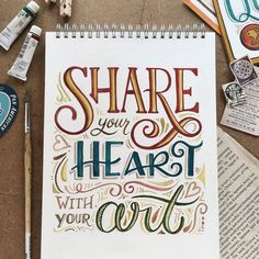 Ideas for quotes calligraphy handwriting heart Calligraphy Quotes Doodles, Brush Lettering Quotes, Doodle Quotes, Hand Lettering Quotes, Creative Lettering, Lettering Styles, Calligraphy Letters, Typography Quotes, Typography Letters