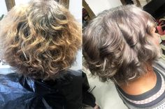 These 6 Holistic Hair Stylists are Helping Women Embrace Their Grey Hair New Short Haircuts, Short Hairstyles For Women, Short Hair Cuts, Cool Hairstyles, Short Hair Styles, Grey Hair Video, Grey Hair Transformation, Gray Hair Highlights, Gray Hair Growing Out