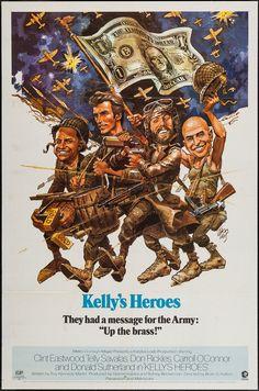"""""""KELLY'S HEROES"""" 1970"""