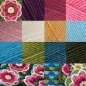 Jane Crowfoot Lily Pond Crochet Blanket COLOUR Pack - Stylecraft Special DK 1.4kg