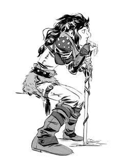 Sketch by Mingjue Helen Chen