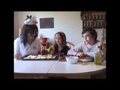 More Two Kids TV - This is our Snackulas episode!  (aka tomato basil crostini)