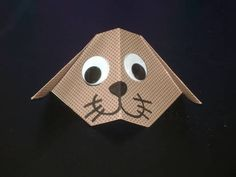 How to make a Cute Origami Dog