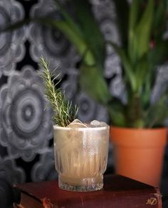Rosemary-infused vodka meets curacao and honey in this gem from Santa Barbara. | Photo by Robb Klassen.