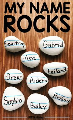 Name Rocks - Make th