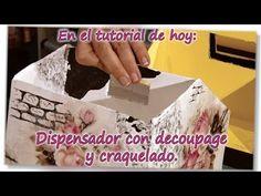 YouTube Decoupage, Stencils, Decorative Boxes, Make It Yourself, Pablo Neruda, Blog, Youtube, Scrapbooking, Friends