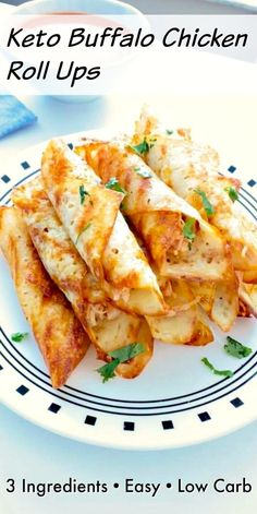 Keto Buffalo Chicken Roll Ups – Quick and easy keto recipe! Easy prep and only 3 ingredients! Keto Buffalo Chicken Roll Ups – Quick and easy keto recipe! Easy prep and only 3 ingredients! Keto Foods, Ketogenic Recipes, Low Carb Recipes, Diet Recipes, Chicken Recipes, Cooking Recipes, Healthy Recipes, Smoothie Recipes, Keto Chicken