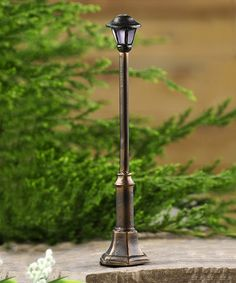 Love this Mini Lamp Post by Giftcraft on #zulily! #zulilyfinds