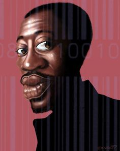 Wesley Snipes (Caricature)