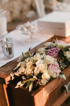 This Mediterranean wedding from White Ribbon Boutique Events is not only a stunning affair with the loveliest of details, but also a celebration rich with family, tradition and history. Honoring their Greek origins, this sweet-as-can-be couple chose to share their