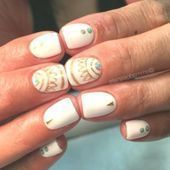 Easy Cute Bright Summer Nail Designs - All For Hair Color Trending Toe Nail Designs, Simple Nail Designs, Nail Polish Designs, Coral Nails With Design, Wedding Nail Polish, Bright Summer Nails, Beautiful Nail Polish, Spring Nail Art, Glitter Nail Art