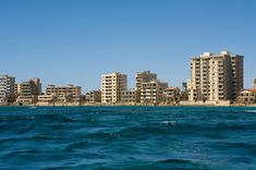 Varosha (Cyprus): Varosha is a completely uninhabited resort city on Cyprus' coast. After the Turkish invasion, Varosha was quickly evacuated. Today, Varosha stands frozen displaying exactly how life was in 1974. From a distance it looks like a bustling resort town, but it is completely dead.