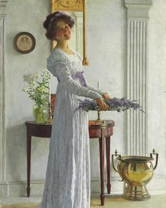 Post with 33 votes and 251 views. Tagged with art, fine art; Shared by Art By William Henry Margetson 'Lavanda' Vintage Art, Vintage Ladies, Tableaux Vivants, Albert Bierstadt, Camille Claudel, Creation Art, Victorian Art, Victorian Paintings, Edwardian Era