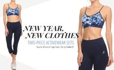 Happy New Year! LA Showroom is ready to help you welcome 2017 with brand-new, stylish apparel! Shop activewear wholesale two piece sets today! Wholesale Fashion, Wholesale Clothing, New Outfits, Stylish Outfits, Activewear Sets, Yoga Capris, Two Piece Sets, Athletic Wear, Active Wear