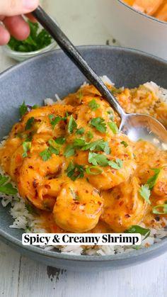 Shrimp Recipes For Dinner, Shrimp Recipes Easy, Seafood Dinner, Shrimp Meals, Prawn Recipes, Fall Dinner Recipes, Lobster Recipes, Shrimp Dishes, Salmon Recipes