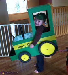 Farmer and his John Deere - 2013 Halloween Costume Contest