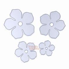 3.77AUD - 4Pcs Flowers Diy Cutting Dies Stencils Decorative Scrapbooking Album Paper Craft #ebay #Home & Garden