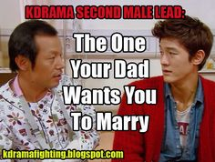 Second Male Leads: We'll take them if the female leads won't! #kdramafighting #kdramahumor