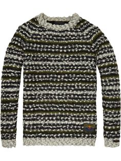 Loose Chunky Pullover | Pullovers | Men Clothing at Scotch & Soda