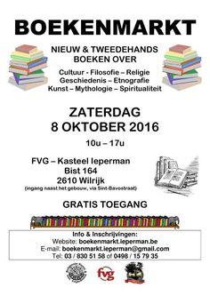 08 Oct 2016 - 08 Oct 2016  Boekenmarkt Ieperman