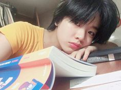 Cute Korean, Korean Girl, Asian Girl, Asian Short Hair, Girl Short Hair, Lee Joo Young Hair, Ulzzang Hair, Ulzzang Tomboy, Tomboy Girl