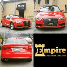 Congratulations Dear Azniv on your Brand Audi  A3! Enjoy your beautiful car and welcome to the Empire Auto Family.  #empireauto #new #car #lease #purchase #finance #refinance #newcarlease #newcarfinance #leasingcompany #customerservice #GlenoaksBlvd #glendale #brokerage #autobrokersales #autobroker #autobrokers #wholesaler #freeoilchange #freemaintanance #2016audia3