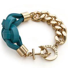 RockLove Jewelry: Threadbare Bracelet Turquoise