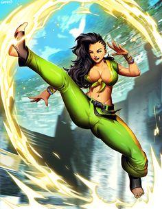 Laura - Street Fighter V by GENZOMAN