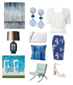"""Set 1...May 29th."" by liz957 on Polyvore featuring LoveShackFancy, River Island, Michael Kors, Kenneth Cole, Heathfield & Co., Improvements, Leftbank Art, I Love Living, outfit and set"