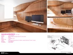 Synthesis Design + Architecture, Los Angeles, CA. Alvin Huang, AIA. Chelsea Workspace, London, England.