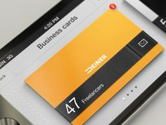 Business Cards Organizer