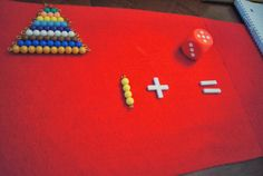 """Making Montessori Ours"": Montessori Addition Tables Work - Coloured Bead Bars"