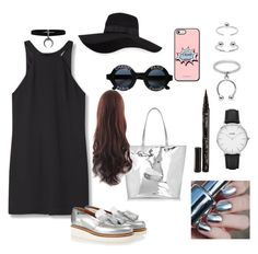 """""""Untitled #14"""" by timiwg on Polyvore featuring MANGO, Grenson, Chanel, San Diego Hat Co., Topshop, Maria Francesca Pepe, Smith & Cult and CLUSE"""