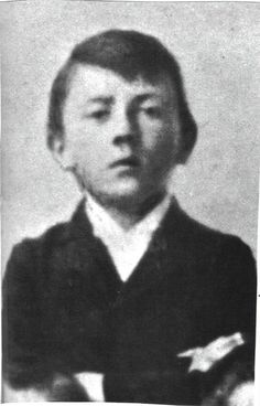 """Hitler already looking like an evil and angry boy at 7 years old."" [1896].   jj"