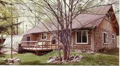 Cordwood Home In Wisconsin