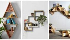Asymmetric shelves