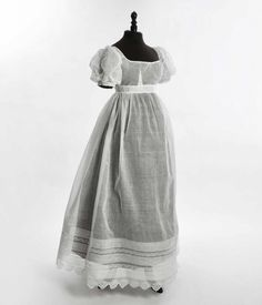 Day dress, 1815-20 From Daguerre