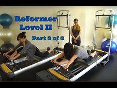 Upside-Down Pilates - Reformer Level II Part 3 of 3 - YouTube
