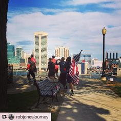 FIREFIGHTER FITNESS  Way to go Rob Jones!!! 30 down one to go!  Repost @robjonesjourney (@get_repost)  Support has come in all forms today. Baltimore PD fellow Marines (Happy Birthday!!) friends family students and a few dogs!  Rob is over the moon to be running at his team @orioles home field  Want to be featured? Show us how you train hard and do work   Use #555fitness in your post. You can learn more about us and our charity by visiting WWW.555FITNESS.ORG  #fire #fitness #firefighter…