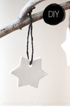 Another DIY christmas star