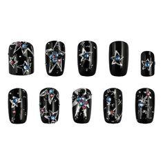 Crystal Pixie STARRY NIGHT - Si te consideras una chica misteriosa, aquí tienes algunas ideas para decorar tus uñas.