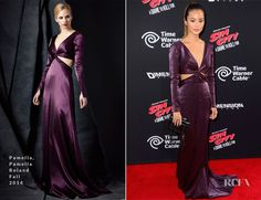 Jamie Chung In Pamella, Pamella Roland - 'Sin City: A Dame To Kill For' LA Premiere - Red Carpet Fashion Awards