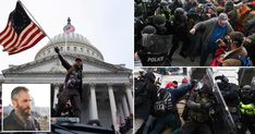 One officer has described being beaten by rioters who were chanting: 'Kill him with his own gun.' Riot Police, Police Officer, Us Election, Presidential Election, Feel Good Stories, Us Capitol, Sky News, Capitol Building, Medieval Fashion