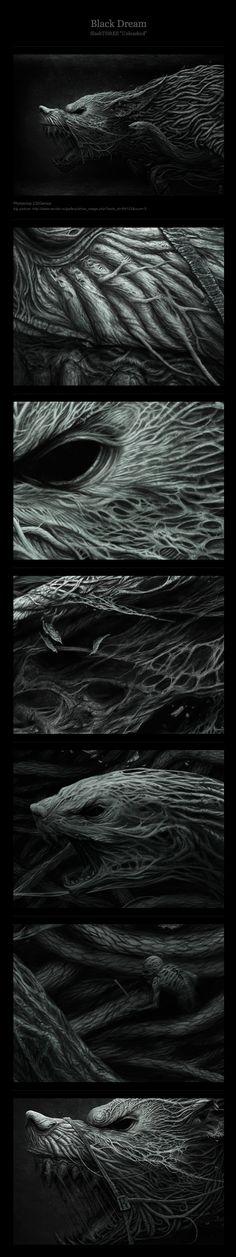 Black Dream by Anton Semenov